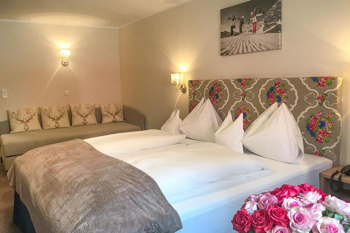 Doppelzimmer Enzian - Andis Skihotel in Obertauern