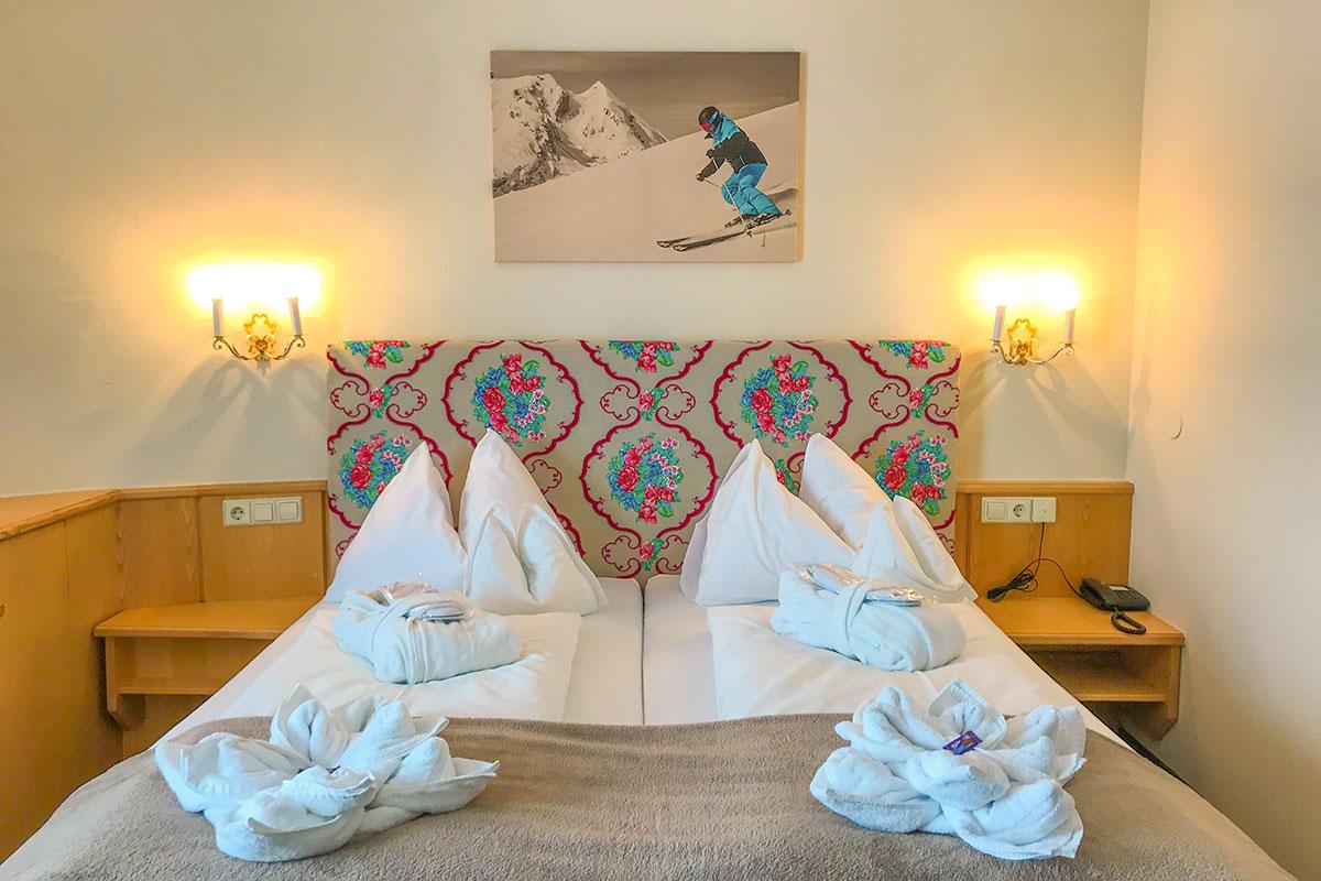 Doppelzimmer Plattenkar · Andis Skihotel in Obertauern