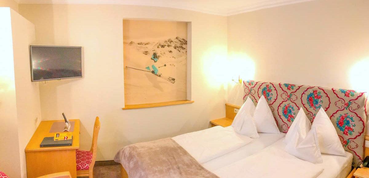 Doppelzimmer Schneerose Andis Skihotel Obertauern