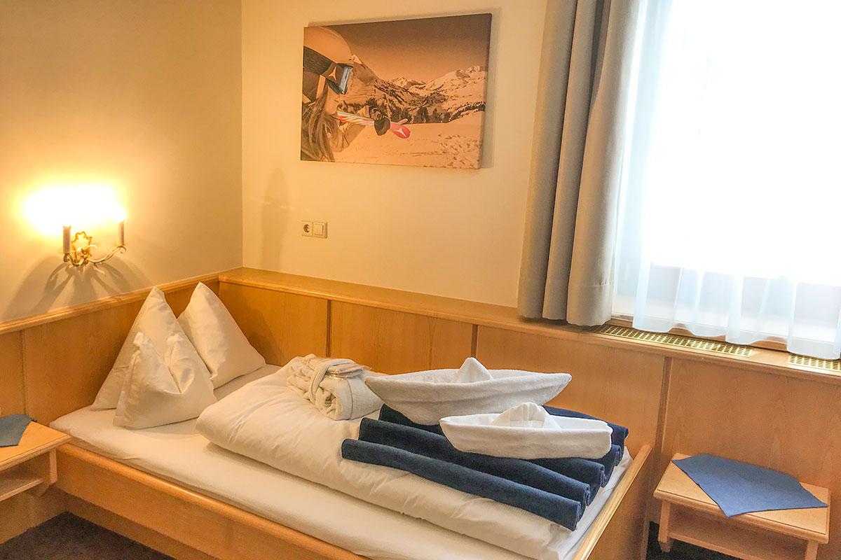 Einzelzimmer Enzian Andis Skihotel Obertauern 3