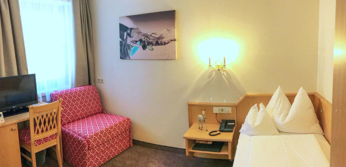 Einzelzimmer Gamsleiten Andis Skihotel Obertauern