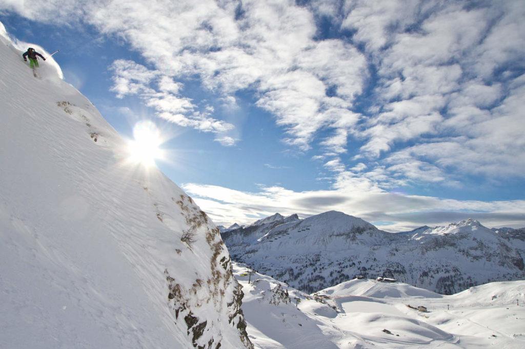 Freeride · Skiurlaub in Andi's Skihotel in Obertauern