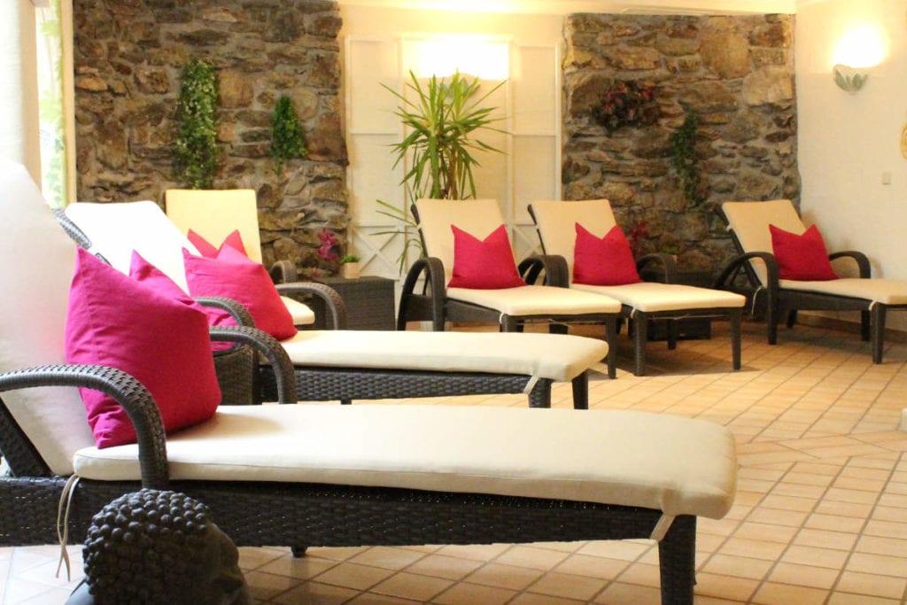 Liegen · Wellness in Andis Skihotel in Obertauern