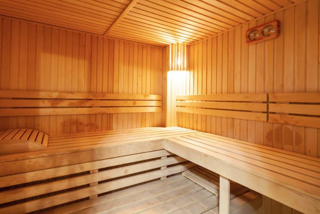 Sauna · Wellness in Andis Skihotel in Obertauern