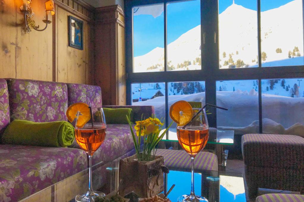 Wintergarten Inklusivleistungen Andis Skihotel Obertauern